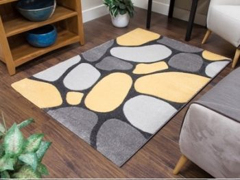 TEMPO PEBBLES - GREY:YELLOW